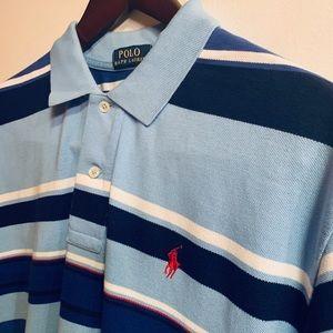 Polo Ralph Lauren XL striped polo